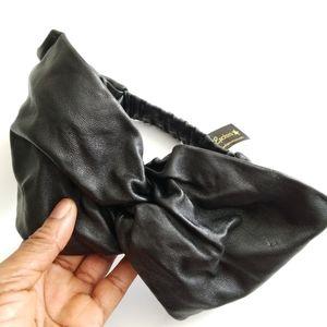 L. Erickson Leather Twist Headband